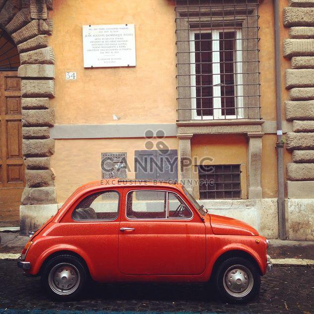 Viejo coche Fiat 500 - image #331069 gratis