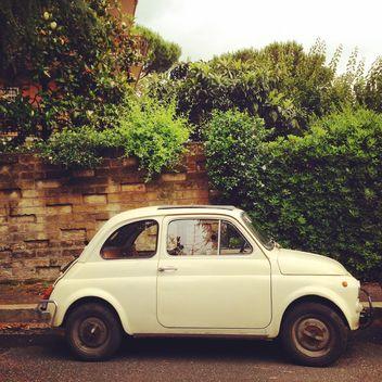 Fiat 500 Bianca Roma - image gratuit #331129