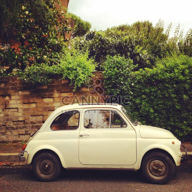 Fiat 500 Bianca Roma - Free image #331129