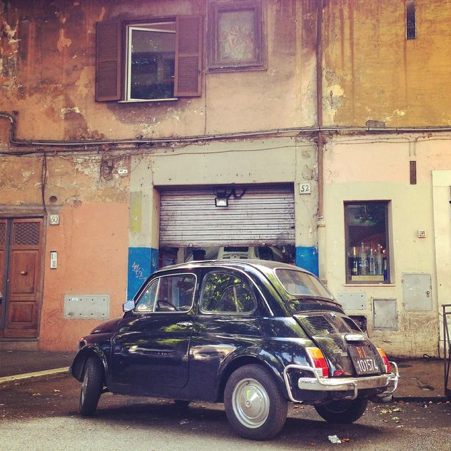 Fiat 500 Testaccio Roma - бесплатный image #331149