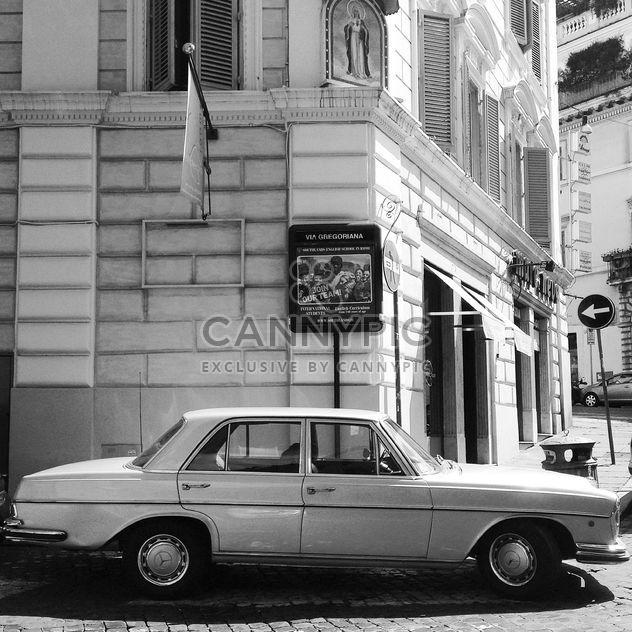 Старый автомобиль Mercedes - бесплатный image #331169
