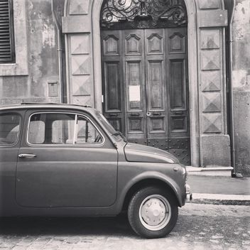 Old Fiat 500 car - Free image #331369