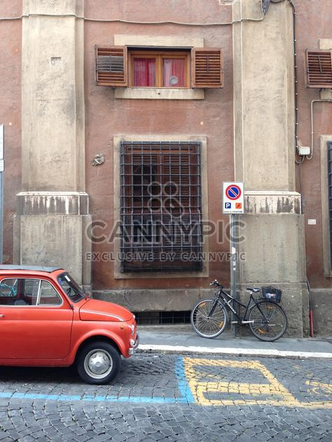 Old Fiat 500 car - Free image #331399