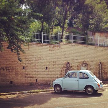 Old Fiat 500 car - Free image #331459