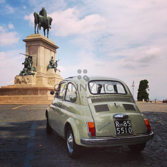 Old Fiat 500 car - Free image #331579