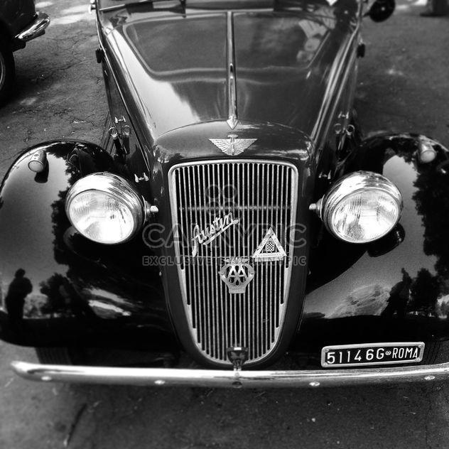 Vieille voiture noire - Free image #331609
