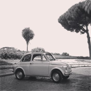 Old Fiat 500 car - image #331629 gratis