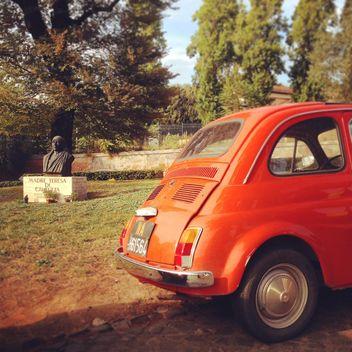 Madre Teresa Fiat 500 Rome - image gratuit #331639