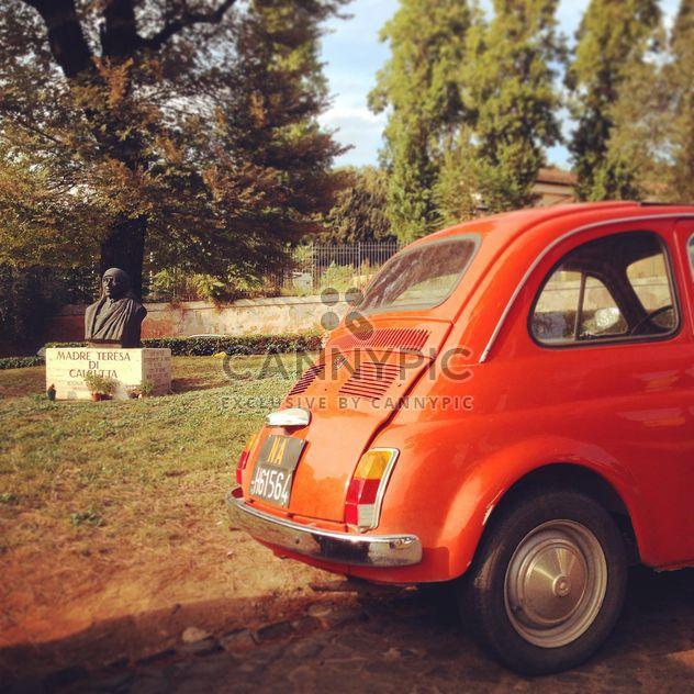 Madre Teresa Fiat 500 Rome - Kostenloses image #331639