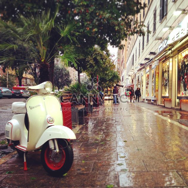 Vespa scooter in the street of Rome - Free image #331739