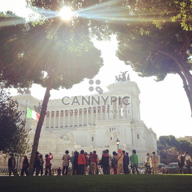 Piazza Venezia Rome - image #331769 gratis