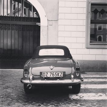 Retro Alfa Romeo car - Free image #331839