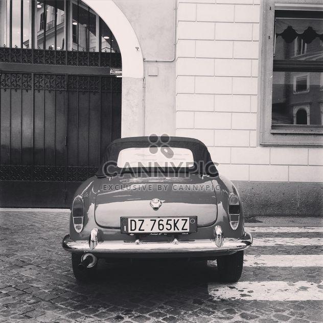 Retrô carro Alfa Romeo - Free image #331839