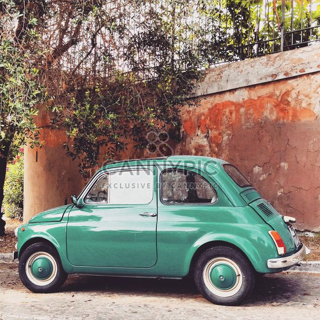 Old Fiat 500 Roma car - Free image #332009
