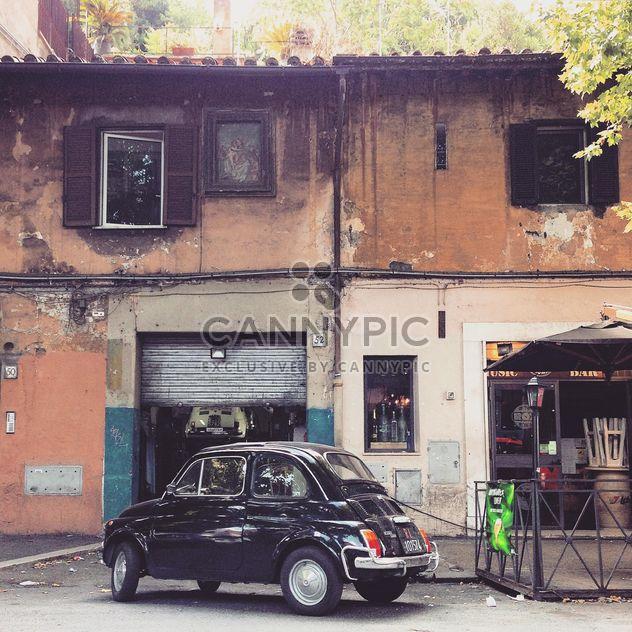 Retro Fiat 500 car - image gratuit #332039