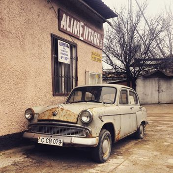 Old Moskvich car - Free image #332169