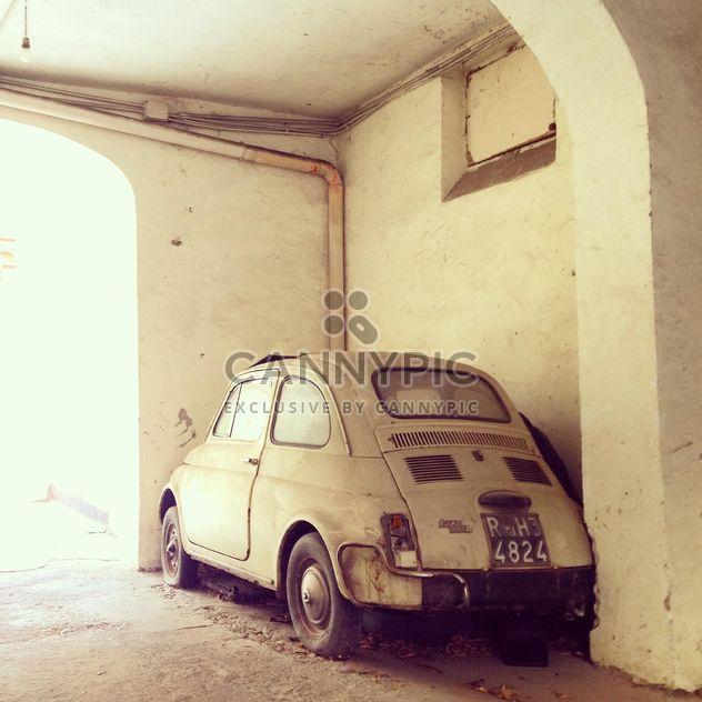 Carro antigo Fiat 500 - Free image #332279