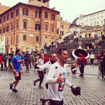 maratona, roma, 2015 - Free image #332299