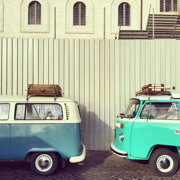Old Volkswagen Vans - Free image #332359