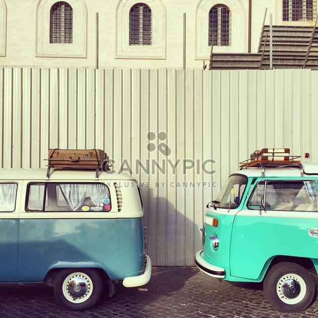 Velho Volkswagen Vans - Free image #332359