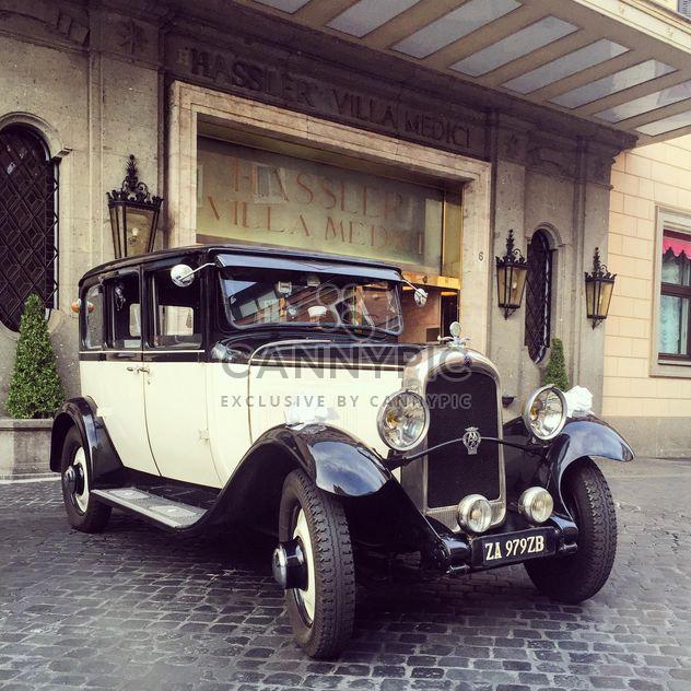 Retro classic car - Free image #332379