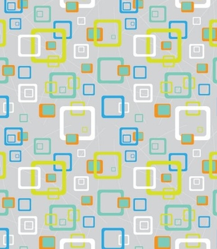 Multicolor Squares Minimal Seamless Pattern - vector #332469 gratis