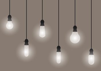 Hanging Bulb - Free vector #332709