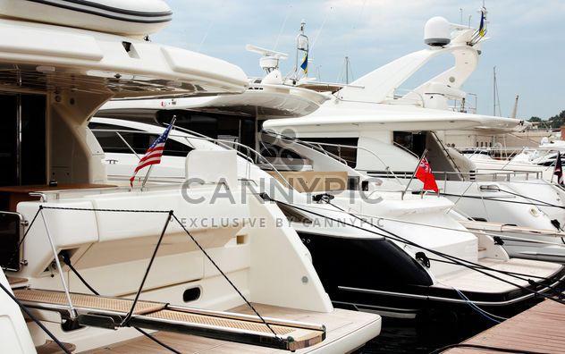 белые яхты - бесплатный image #333219
