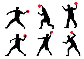 Dodgeball Vector - Free vector #333309