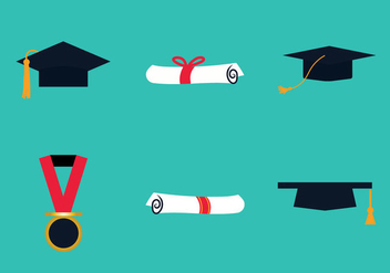 Free Graduate Vector Illustration - Free vector #333319