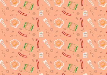 Free School Lunch Vector Pattern #8 - Kostenloses vector #333429