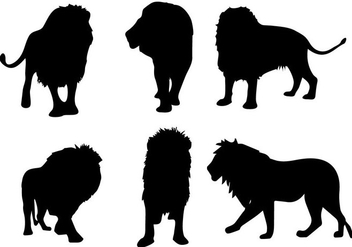 Free Lion Silhouette Vector - Kostenloses vector #333469