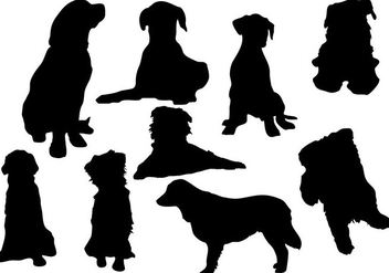 Free Dog Silhouette Vector - бесплатный vector #333489
