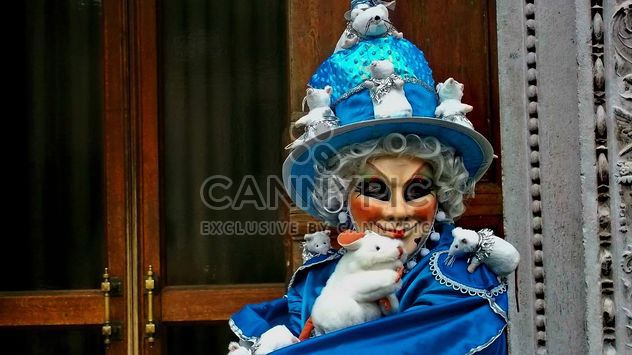 pessoas com máscaras de carnaval - Free image #333629