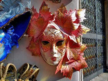 Masks on carnival - Free image #333649
