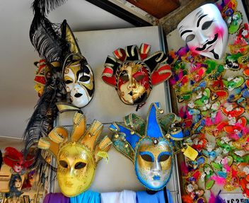 Masks on carnival - Free image #333659