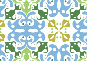 Seamless floral pattern background - Free vector #334019