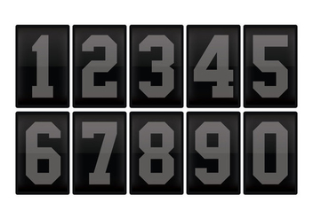 Number counter 2 - vector gratuit #334039