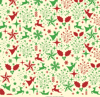 Christmas background - vector gratuit #334349