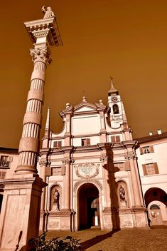 Architecture of italian church - Free image #334709