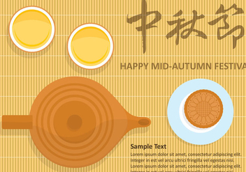 Mid-Autumn Festival - Free vector #334869