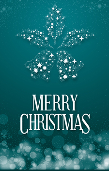 Christmas banner with shinning bells - vector #334919 gratis
