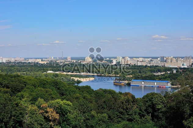 The views of the Dnipro and left shore of Kiev - Free image #335079