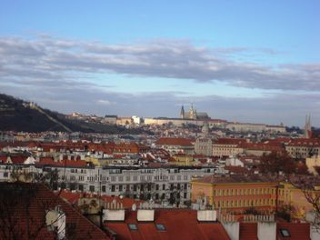 Prague from height in winter - бесплатный image #335139