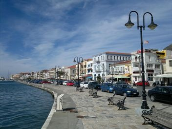 Samos Harbor - Free image #335229