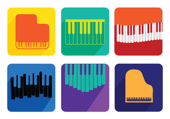 Piano Recital Vectors - Free vector #335549