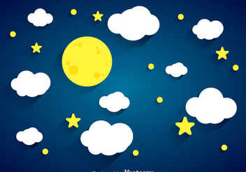 Night Background - vector #335599 gratis