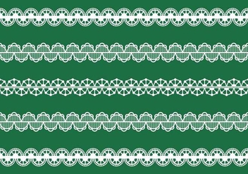 Vector Lace Trim - vector #336749 gratis