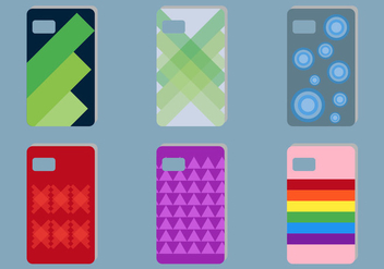 Free Phone Cases Vectors - vector gratuit #336769