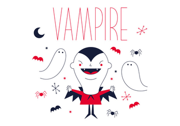 Free Vampire Vector - Free vector #336969